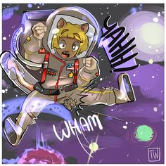 Cat Space Suit Commision by temporaryWizard on DeviantArt