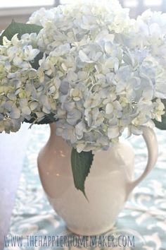 The Super Secret Tip to Having Long-Lasting Fresh Cut Hydrangeas In Your Home all Year Long ! by The Happier Homemaker