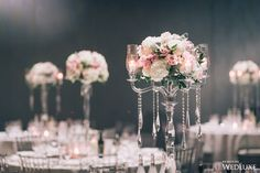 WedLuxe – Modern and Traditional Design Elements Come Together for this Romantic Wedding | Photography By: Eric Cheng Photography. Follow @WedLuxe for more wedding inspiration!
