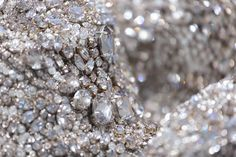 A piece from Elie Saab's Spring/Summer 2016 Haute Couture Collection up close.
