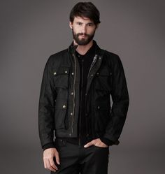 Belstaff Waxed Cotton Burgess Jacket