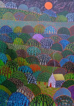 Into The trees a limited edition numbered and by richardfriend