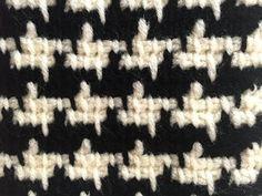 Knitting Pattern for Diagonal Lines Vest in Super Bulky Yarn - Louisa Tunisian Crochet, Crochet Motif, Crochet Designs, Knit Crochet, Baby Knitting Patterns, Knitting Stitches, Crochet Patterns, Knitting Videos, Crochet Videos