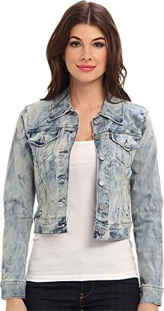 Women's Denim Jackets - Levis Womens Authentic Trucker * Read more reviews of the product by visiting the link on the image.