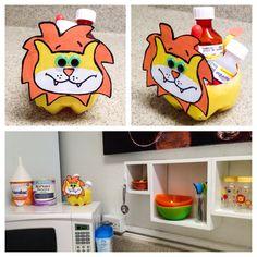 Soda Bottle Animal bowl