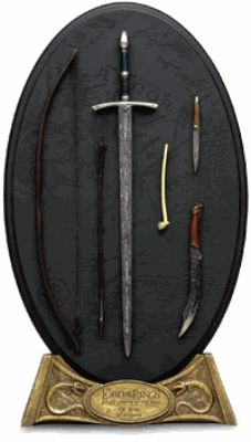 The Arms of Aragorn | Lord of the Rings Weapon Sets Shop
