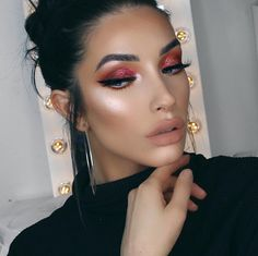 """Morphe (@morphebrushes) on Instagram: """"You sure know the meaning of glam, @khindahawari ✨ She grabbed The @JaclynHill Palette and is…"""""""