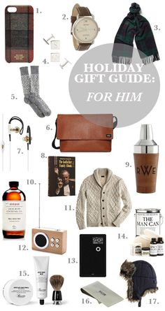 My guide to shopping for my guy this season! | Gift Guide: For Him | SacramentoStreet | #giftguide #gifts #holidaygiftguide