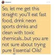 I love Essential Oils!
