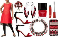 Black and Red - Myoho | Indian Designers