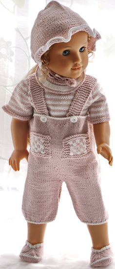 Baby Knitting Patterns Girl Knitting doll clothes – A comfortable and cute summer suit, sup … Baby Knitting Patterns, Baby Pattern, Free Knitting, Crochet Patterns, Knitting Dolls Clothes, Doll Clothes Patterns, Doll Patterns, Clothing Patterns, Girl Dolls