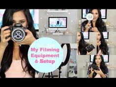 My Filming Equipment & Setup - Plus Tips for New Youtubers MissLizHeart