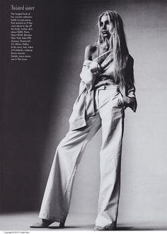 FEATURES- Vogue [US] (April '97)  Ann Demeulemeester   Irving Penn