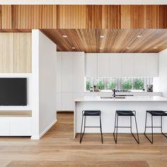 "199 Likes, 4 Comments - Caesarstone Australia (@caesarstoneau) on Instagram: "" @rawsonhomes Fresh & Minimal ☁️ Perfect balance between crisp shades, clean lines & natural…"""