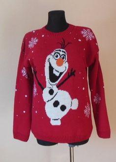Kup mój przedmiot na #vintedpl http://www.vinted.pl/damska-odziez/bluzy-i-swetry-inne/16849601-swiateczny-sweter-czerwony-38-40