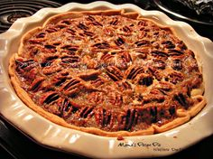 Pecan Pie has always been a favorite in our family for as long as I can remember.This is a recipe I've used for many years. I was not sure if this was my mother's recipe or my former mother in laws until today (6/15/2012) when I found my mothers hand written recipe.  She would be so pleased to know her recipe had won a blue ribbon. This pie was served at Thanksgiving and Christmas for as long as I can remember. It's a wonderful pie to say the least!