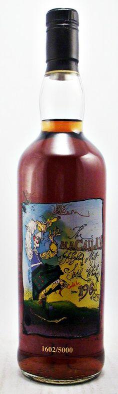 Macallan Private Eye Single Malt Scotch Whisky 40% A very rare distillery bottling of Macallan Single Malt Scotch whisky.