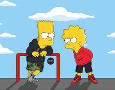 Dabbin' Bart Simpson ❌ Supreme ❌ Adidas Ultra Boost on Behance Simpsons Drawings, Simpsons Art, Simpson Wallpaper Iphone, Cartoon Wallpaper Iphone, Vanessa Macias, Bart E Lisa, Bart And Lisa Simpson, Hug Gif, Digital Foto