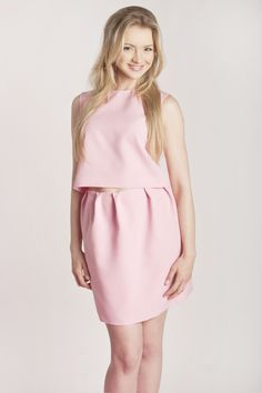 Barbara Kurdej-Szatan Estilo Rosa Set Pastel Pink Barcelona Vibe Collection