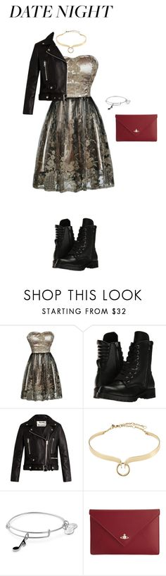 """""""Night (Outfit Two)"""" by flyawayangel337 ❤ liked on Polyvore featuring Capezio, Acne Studios, Alexis Bittar, Alex and Ani and Vivienne Westwood"""