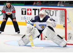 Mikko Koskinen, Finland IIHF 2014 Hockey Baby, Hockey Goalie, Face Off, Ih, Finland, Europe, Baseball Cards, Sports, Hs Sports