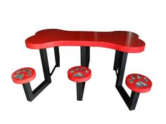Dog Park Table | Dog Bone Table by BYO Recreation. cute but would make a wooden one!!