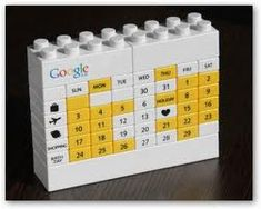 Lego Google Calendar