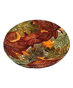 Forest Floor Birdbath at Joss and Main Fallen Leaves, Autumn Leaves, Glass Bird Bath, Wildlife Decor, Evergreen Flags, Evergreen Enterprises, Fall Projects, Happy Fall Y'all, Backyard Birds