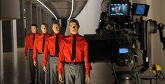 Kraftwerk: influential electronic music band from Düsseldorf, Germany. The group was formed by Ralf Hütter and Florian Schneider in 1970, and was fronted by them until Schneider's departure in 2008. The signature Kraftwerk sound combines driving, repetitive rhythms with catchy melodies, mainly following a Western Classical style of harmony, with a minimalistic and strictly electronic instrumentation.