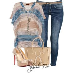Stylish Eve Summer 2013 Outfits: Summer Blouses Provide Stylish Looks