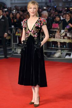 In Schiaparelli at the Truth screening at the BFI London Film Festival