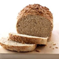 Easy and great tasting healthy bread recipe - soft and fluffy!