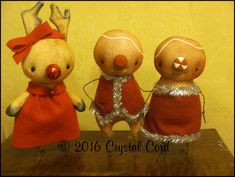 Reserved for Deb : by WhimsyByCrystal on Etsy Sweet Nothings, Handmade Art, Dolls, Christmas Ornaments, Crystals, Holiday Decor, Artist, Etsy, Baby Dolls