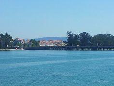 Puente de la toja. Visto desde O Grove
