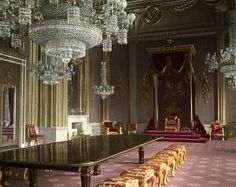 Buckingham Palace, Throne Room, c.1910                                                                                                                                                                                 More