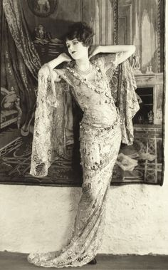 1920s gown.