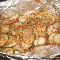 Campfire Potatoes Recipe 2 | Just A Pinch Recipes