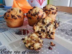 Muffins américains aux pépites de chocolat à vous rendre addict !