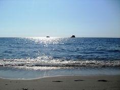 Parco Marino Scogli di Isca Amantea #Calabria - Il Parco Marino visto dalla costa