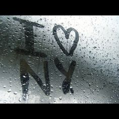 NYC- Always wanted to this on a rainy day :)