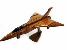 Avro Arrow - Premium Wood Designs #Civilian #Aircraft premiumwooddesign... Wooden Airplane, Wooden Car, Avro Arrow, Children Toys, Wooden Gifts, Model Ships, Wood Toys, Wood Design, Carpentry