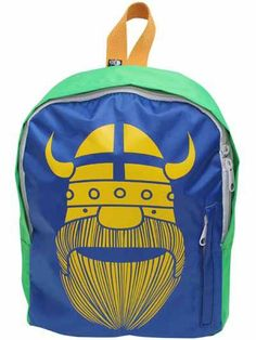 Backpack - Yellow Viking Retro Baby Clothes - Baby Boy clothes - Danish Baby Clothes - Smafolk - Toddler clothing - Baby Clothing - Baby clo...