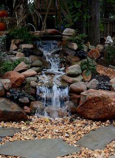 Gorgeous Backyard Ponds and Water Garden Landscaping Ideas (68) #LandscapingIdeas