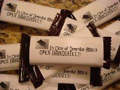 Chocolate as wedding favors