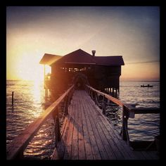 Sunset in West End, #Roatan #Honduras by Giulia @ One Life