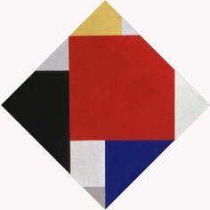 Theo van Doesburg, Counter-composition V, 1924 Hard Edge Painting, Painting & Drawing, Charleston Dance, Bauhaus, Irish Free State, Theo Van Doesburg, Art Base, Mondrian, Source Of Inspiration