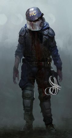 Zombi Headed to Current-Gen Consoles and PCs on New Screens and Trailer Released Post Apocalypse, Armor Concept, Concept Art, Horror Art, Horror Movies, Post Apocalyptic Art, Zombie Art, Resident Evil, Character Art