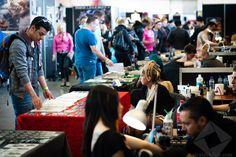 '문신=차카게 살자'를 떠올리면 구세대 ⇨ 암스테르담에서 열린 '국제 타투 컨벤션'에 초대합니다