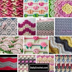 How To Crochet: 76 Crochet Stitches And Tutorials - Knit And Crochet DailyKnit And Crochet Daily