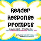 This freebie contains 11 reader response prompts both in English and Spanish total). It is great for the dual language classroom with English prompts in blue text and Spanish prompts in red text. Thanks, Shana Enchanted with Technology. Balanced Literacy Classroom, Reading Response Journals, Interactive Websites, Dual Language Classroom, Responsive Classroom, Bilingual Education, Literacy Activities, Prompts, No Response